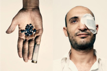 Ahmed Harara is a Cairo dentist who was blinded in one eye by a rubber bullet during clashes in January. In November, he was shot in his other eye. Now he is completely blind.  As they say in America, power of the people will change everything,  Harara says.