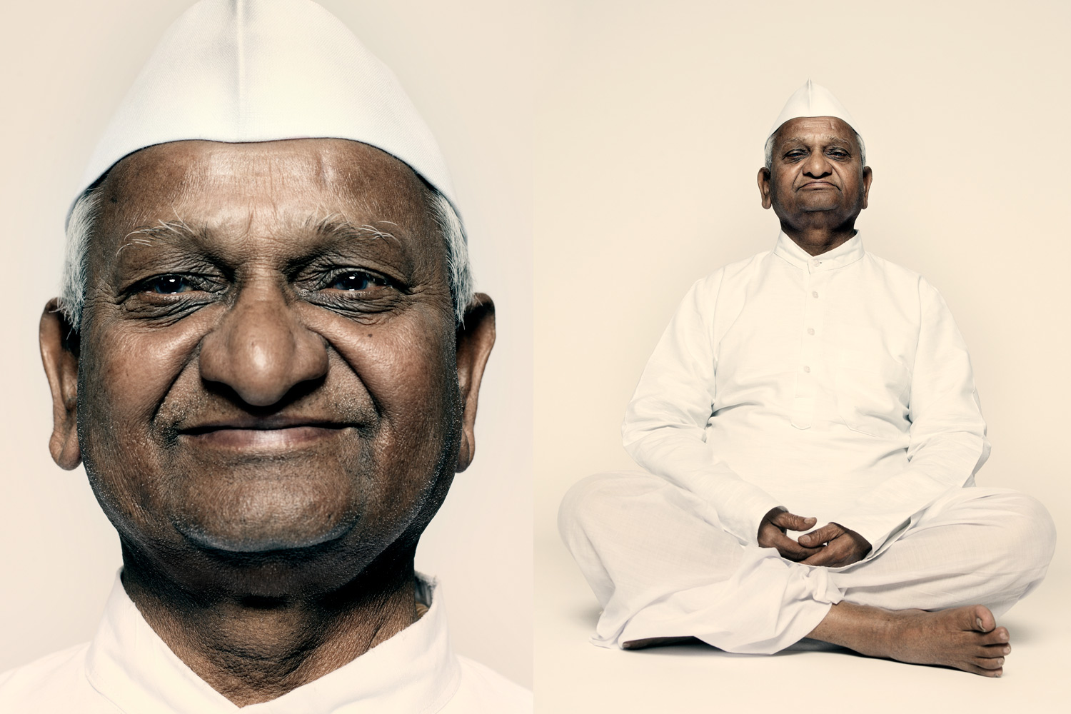 Anna Hazare, anti-corruption crusader in India, says,  When God wants to bring in change, he needs a vehicle of change, and I became that vehicle.