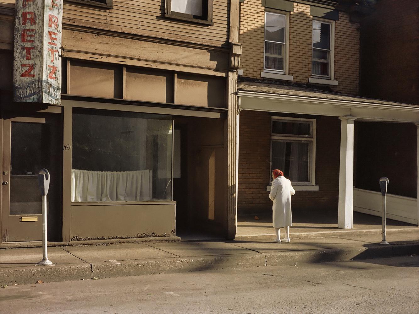 Morning in Monessen, Pennsylavania, 1983, by Jerome Liebling.