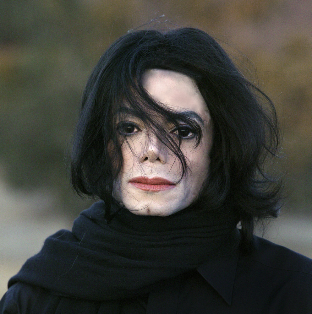 Singer and songwriter Michael Jackson photographed by Jonathan Exley at the Neverland Ranch in Los Olivos, CA. in October 2005.
