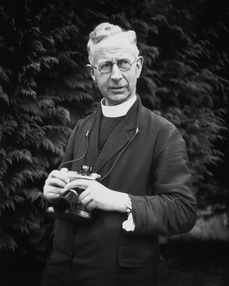 Portrait of Fr. Browne, taken by Fr. Michael Garahy at Kilnavart, Ireland. June 1, 1939.