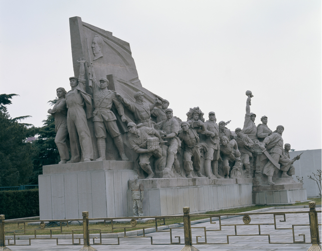 Hiding in the City No. 19—Sculptures on the Left of Chairman Mao, 2006