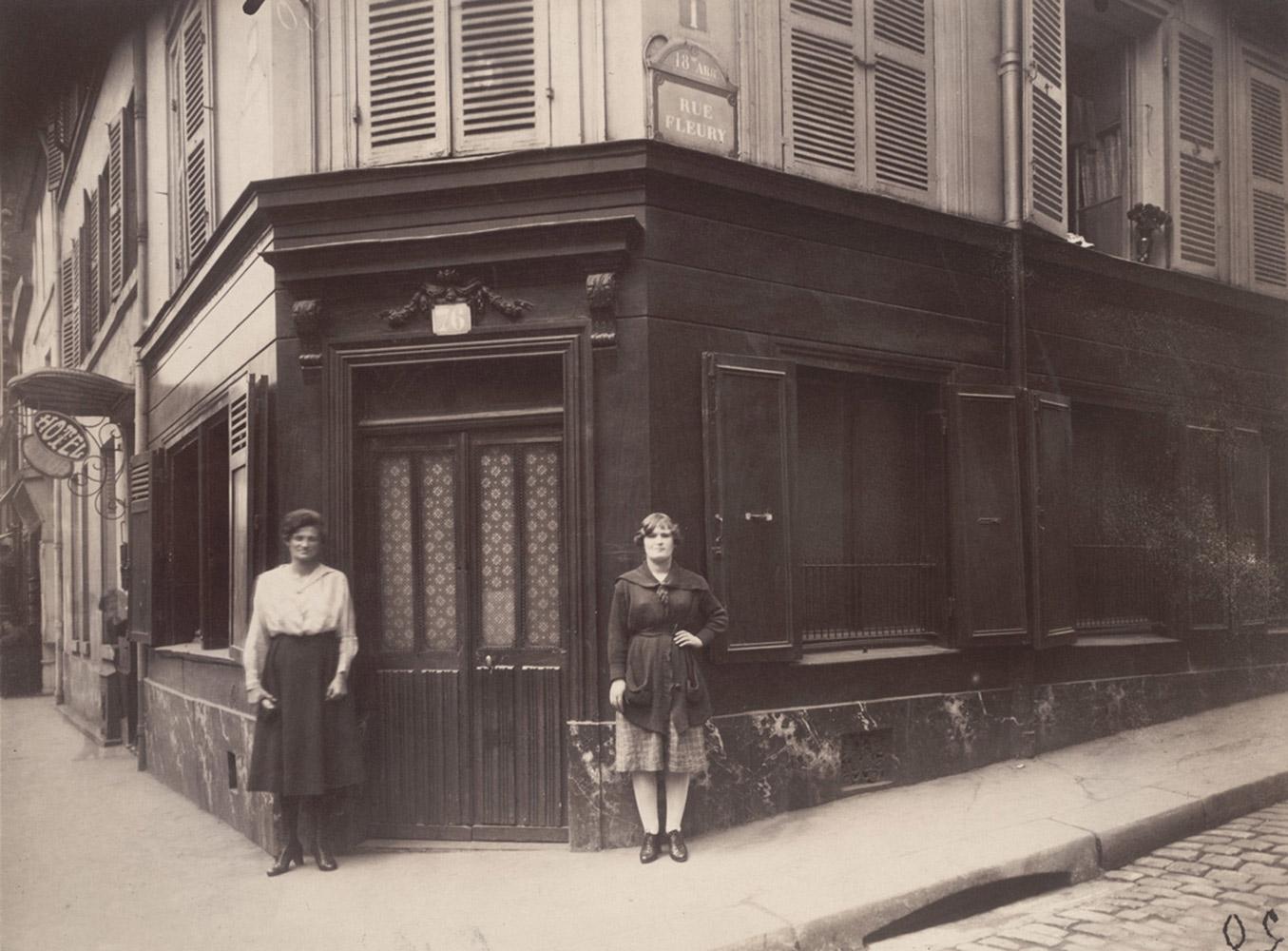 Corner of boulevard de la Chapelle and 76 rue Fleury, eighteenth arrondissement, June 1921