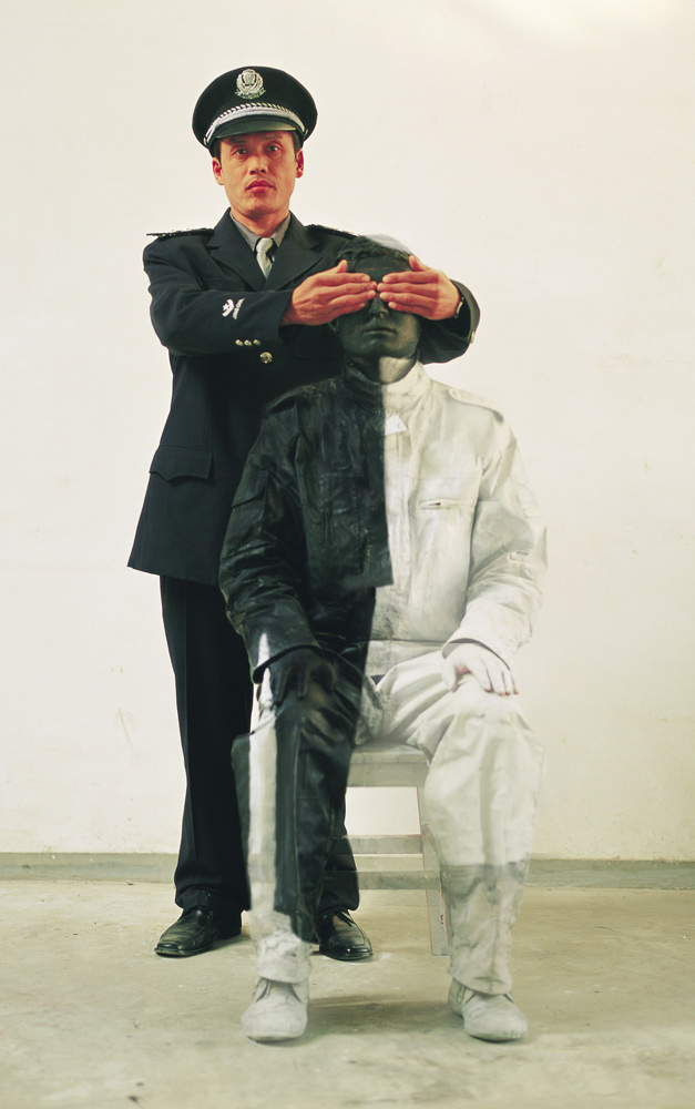 Hiding in the City No. 17—People's Policeman, 2006