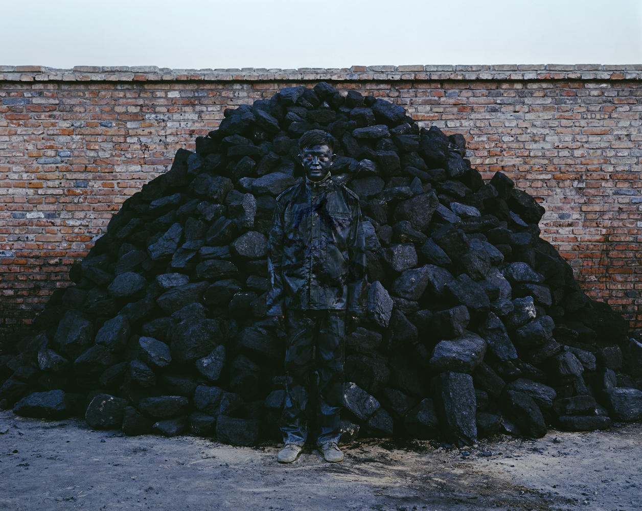 Hiding in the City No. 95—Coal Pile, 2010