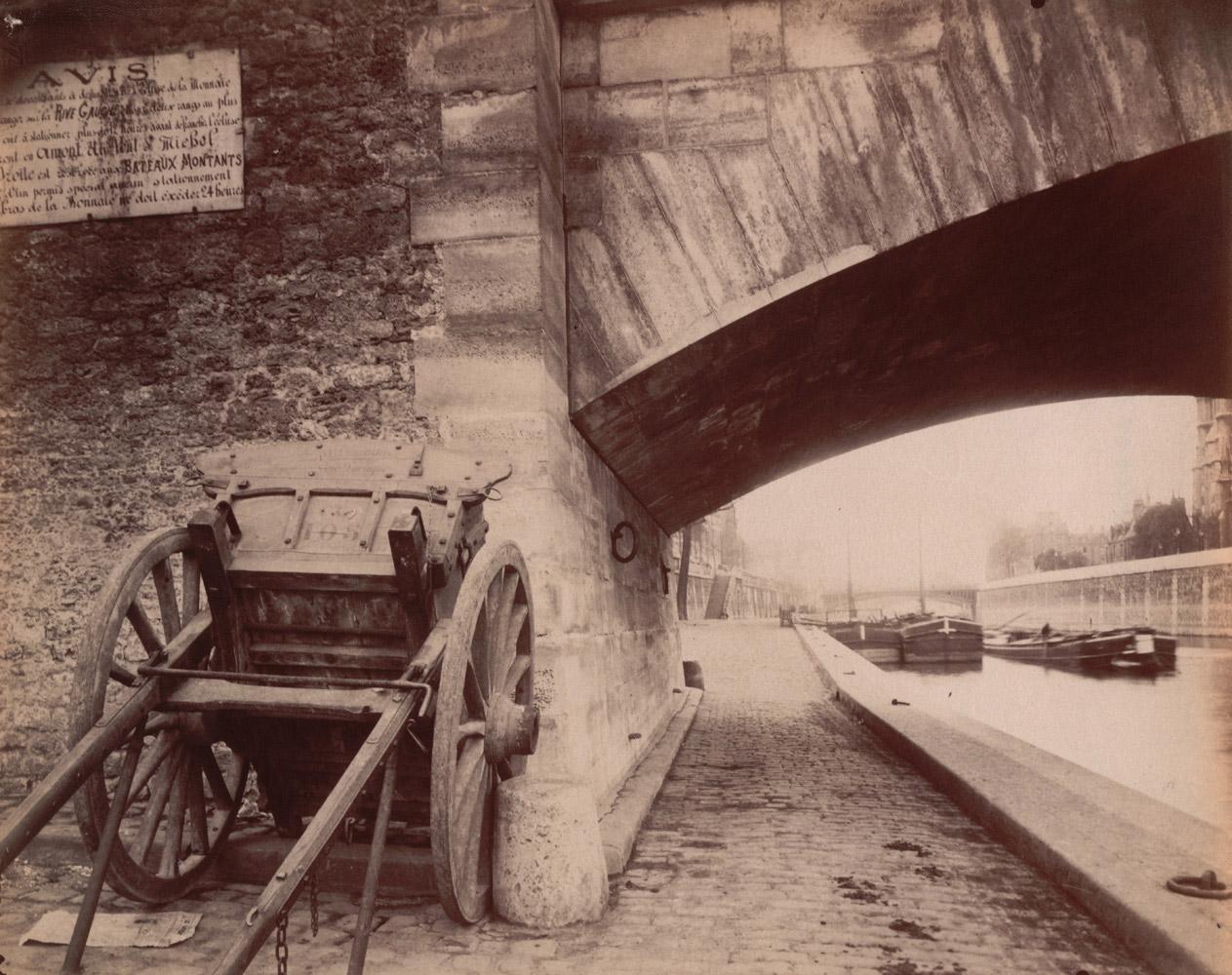 A corner of the quai de la Tournelle, fifth arrondissement, 1910-1911