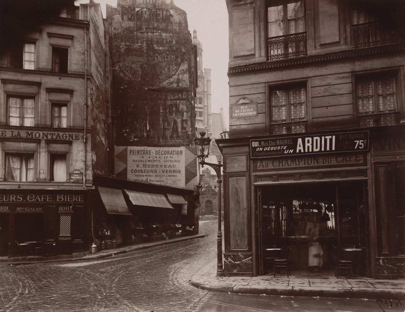 Rue de la Montagne-Sainte-Geneviève, 1925