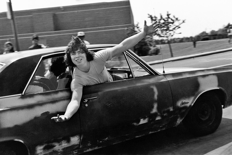 Chris on Sr. Day, 1977