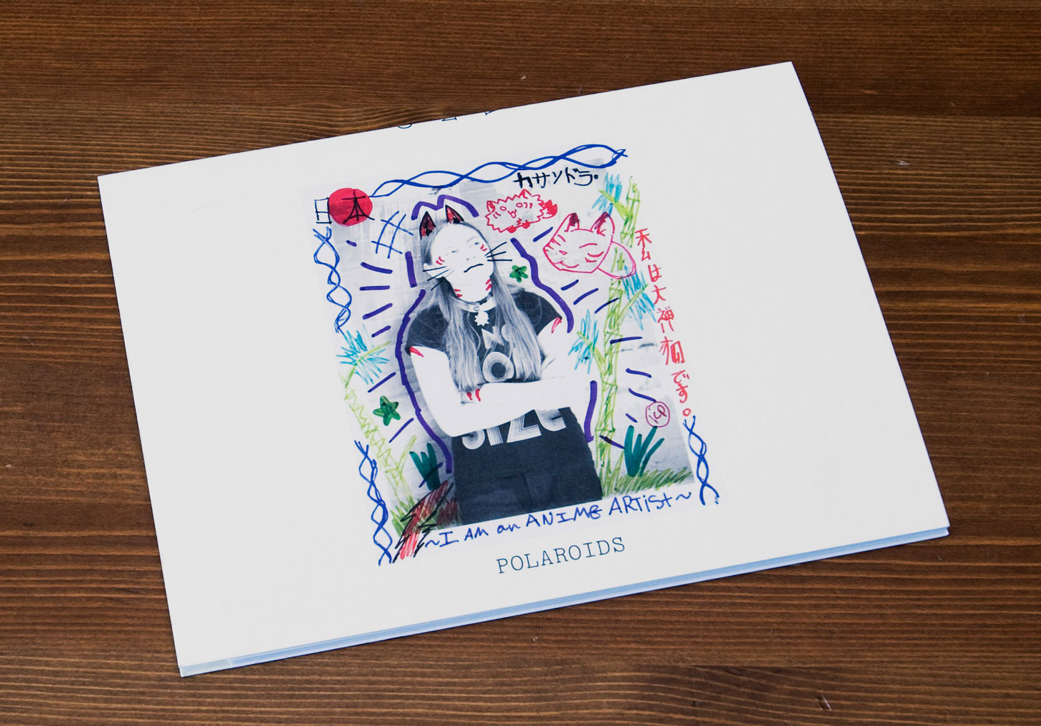 Postcards From America: fold-out cover
