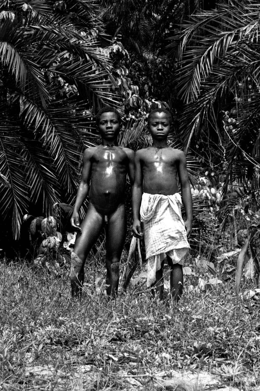 Unknown Liberian children. 1977.