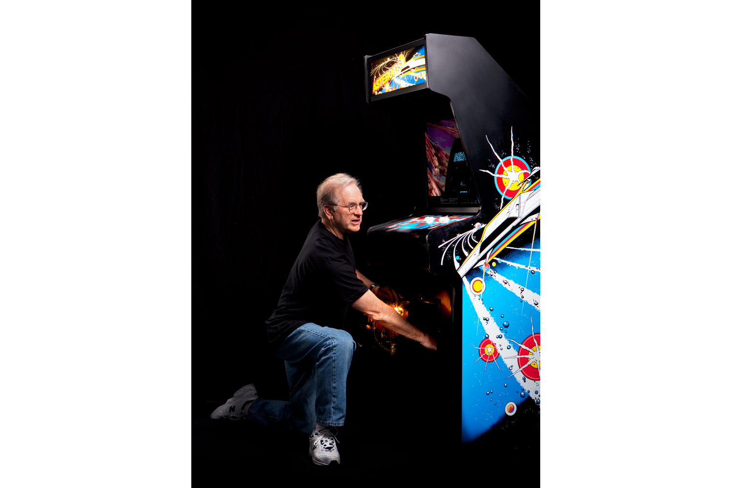 Ed Logg, Asteroids (1979)                               Atari's master of design — he made Centipede (1980) too — battle-tests the group's new games.