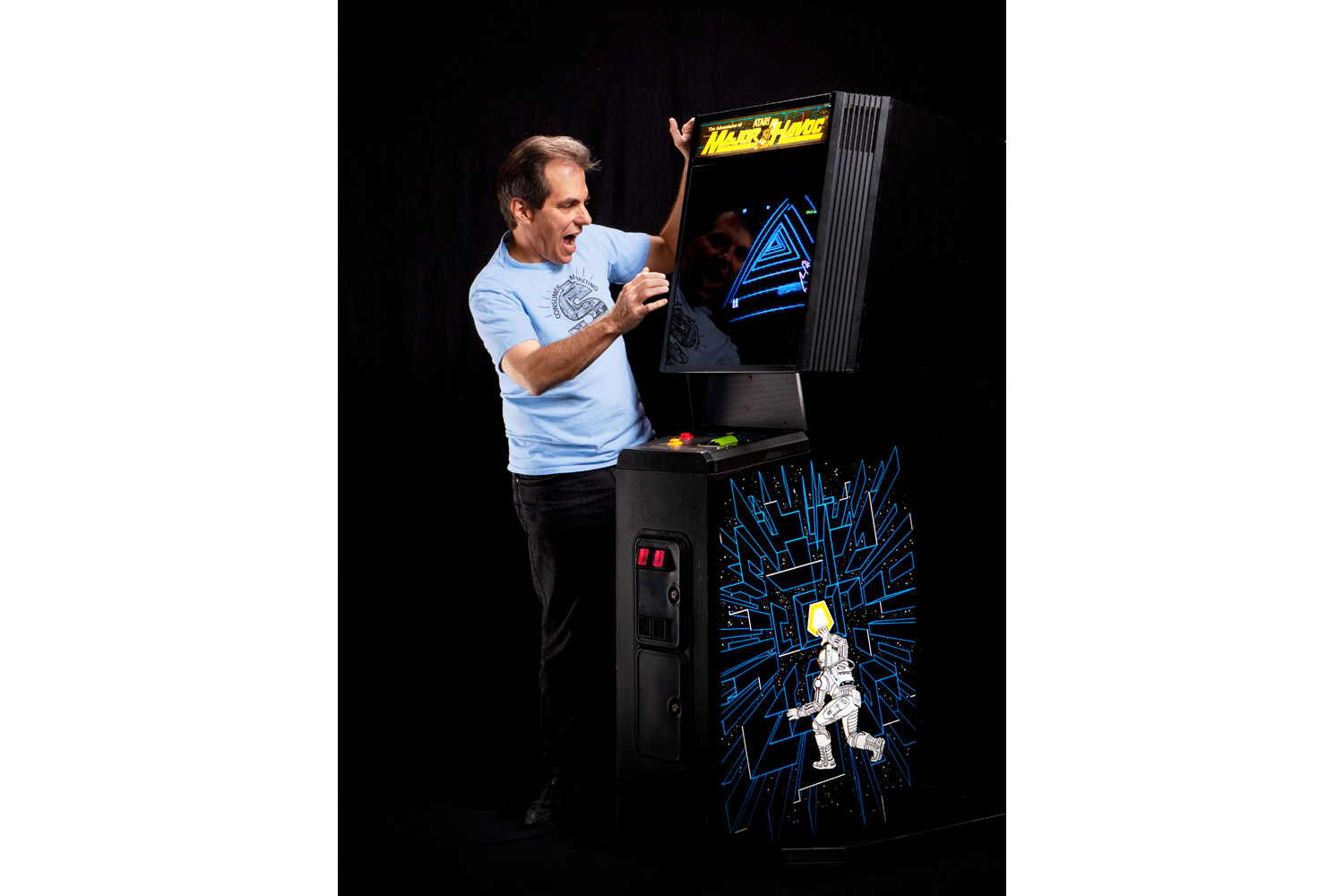 """Owen Rubin, Major Havoc (1983)                               The prolific Rubin is best known as the guy who made the volcano erupt in Battlezone. He also earned the nickname """"The Black Thumb"""" at Atari because he had a knack for making games crash. His curse makes him invaluable as a game tester at the newly formed company."""