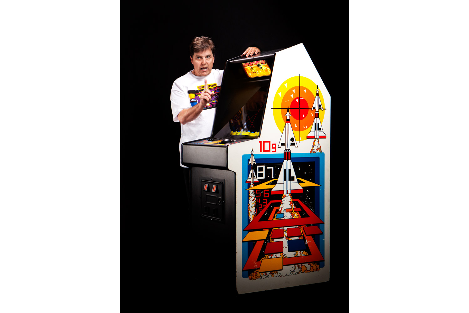 Rich Adam, Missile Command (1980)                               Adam is currently taking aim at Sonic the Hedgehog with a new game called Echidna.