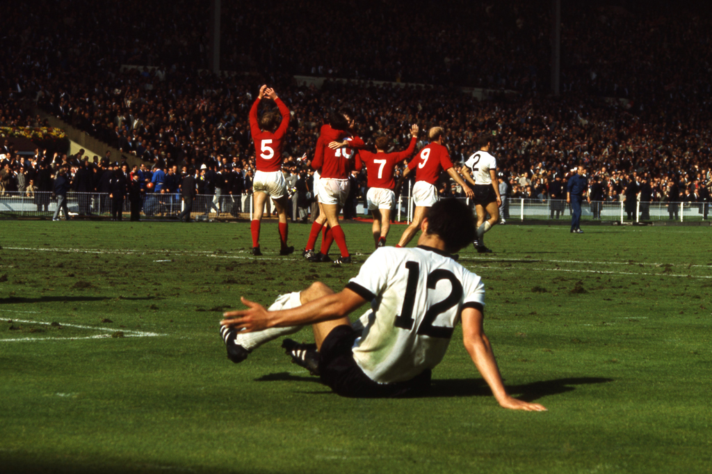 <strong>Not published in LIFE.</strong> England scores, World Cup, 1966.