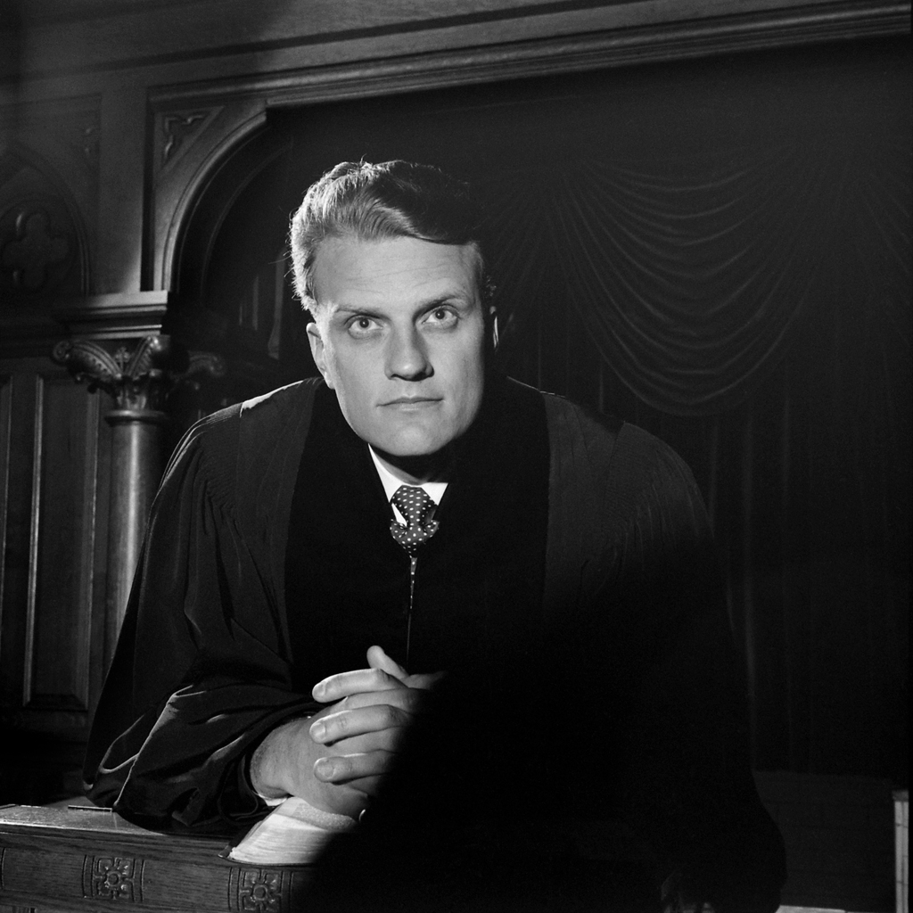 <strong>Not published in LIFE.</strong> The Rev. Billy Graham in 1952.