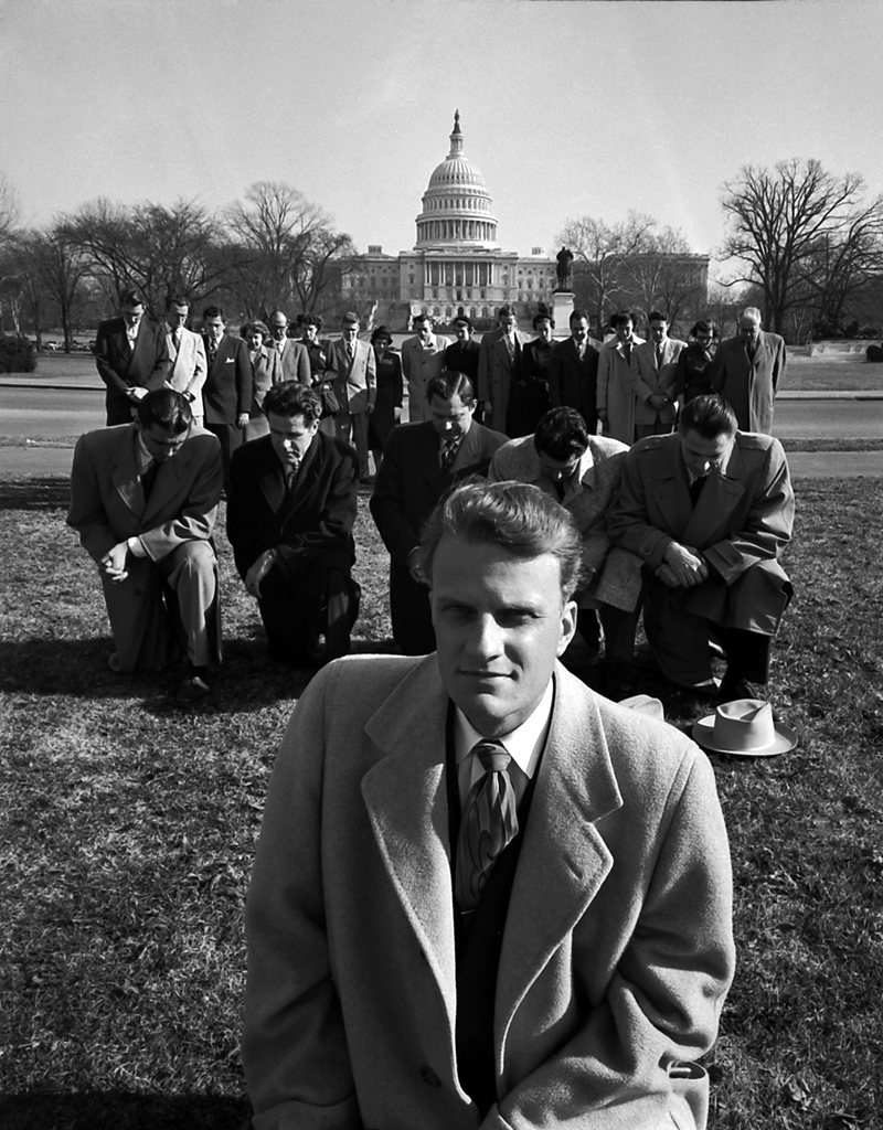 <strong>Not published in LIFE.</strong> Billy Graham in Washington, D.C., 1952.
