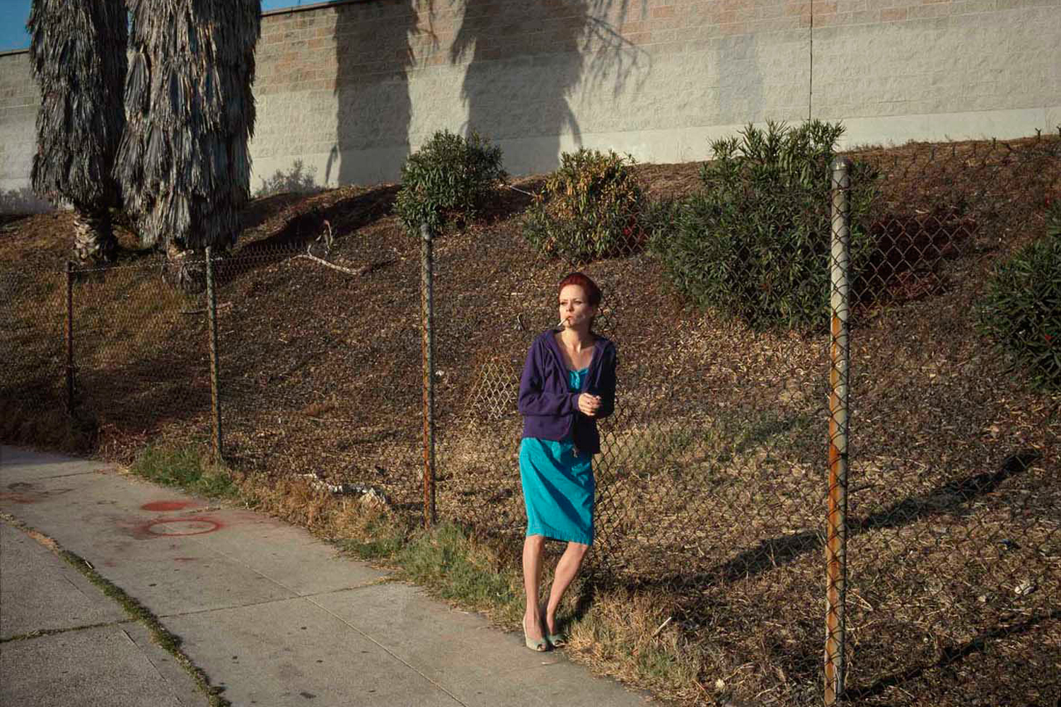 Heather #03, Lemon Grove Avenue, 2009. From the series On Hollywood.