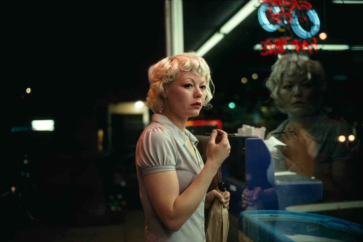 Malaïka #13, North Sunset Blvd, 2010. From the series On Hollywood.