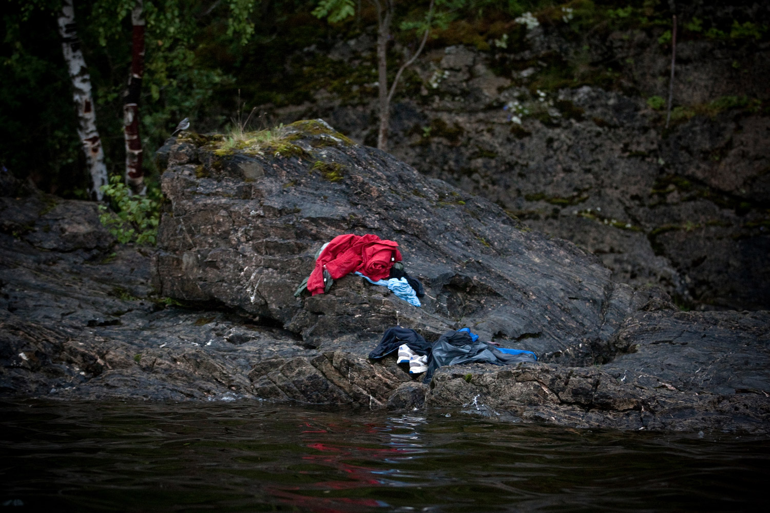 Second Prize Spot News StoriesJuly 22. Utøya, Norway. Trying to avoid the killer's bullets, many people jumped into the cold water. Anders Behring Breivik killed 69 people on July 22 on the small island of Utøya outside Oslo in Norway.