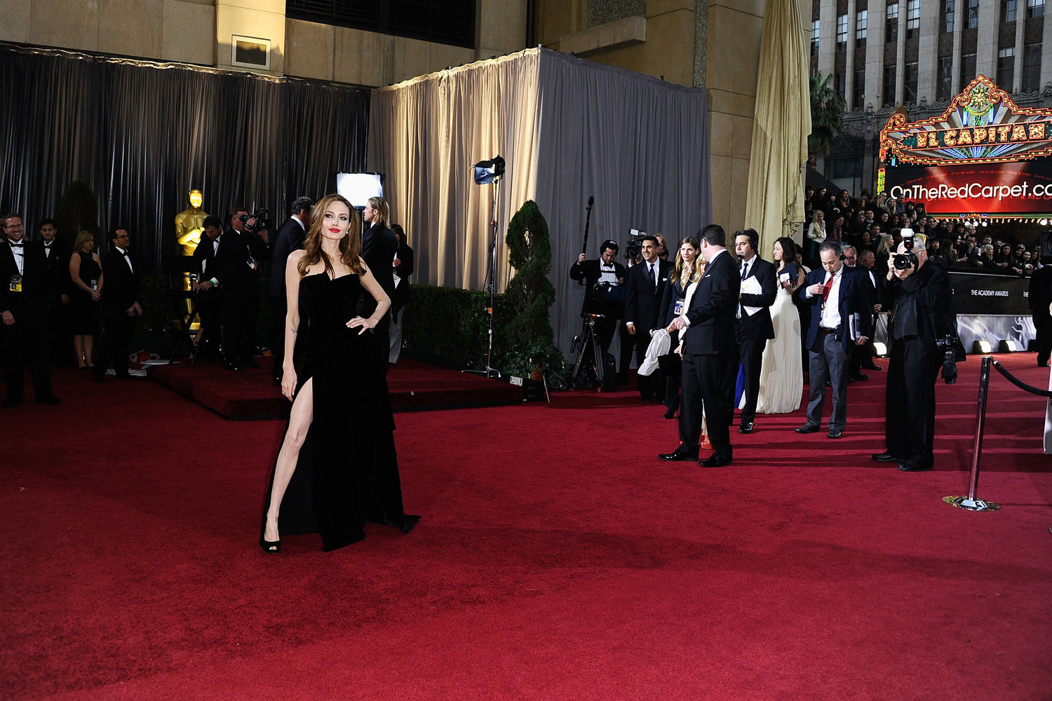 Feb. 26, 2012. Actress Angelina Jolie arrives at the 84th Annual Academy Awards held at the Hollywood & Highland Center in Hollywood, Calif.