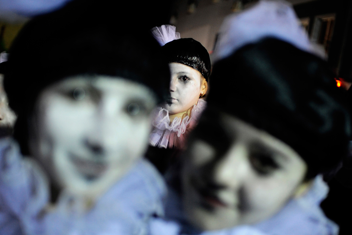 Feb. 25, 2012. Revelers participate at a Trimery celebration in the city of Strumica, Macedonia.