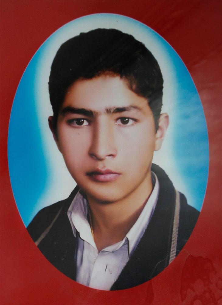 A  retouched  digital portrait of a young man.