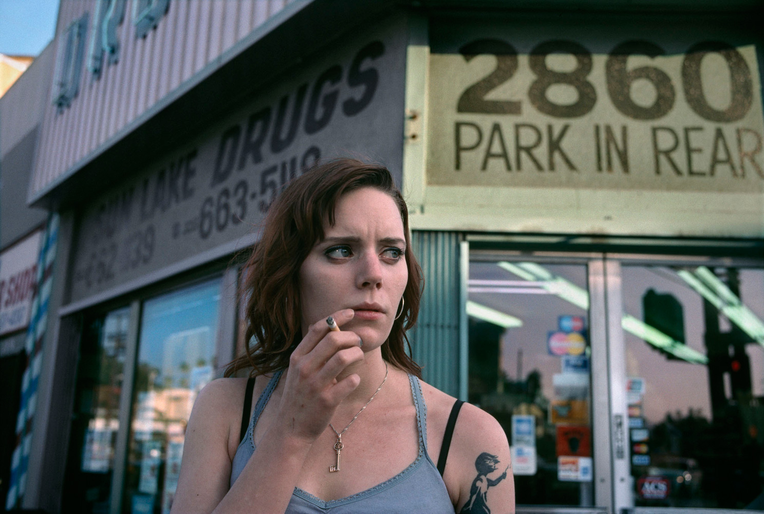 Emily, 2860 Sunset Blvd, 2010. From the series On Hollywood.