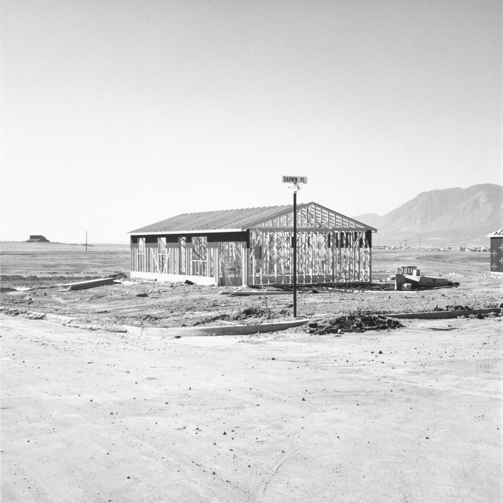 Frame for a Tract House, Colorado Springs, Colorado, 1969