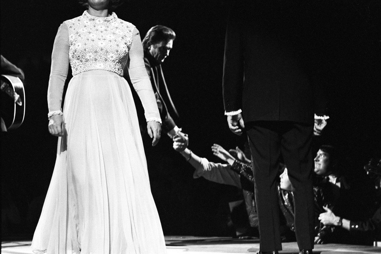 Performing at Madison Square Garden, December 1969.
