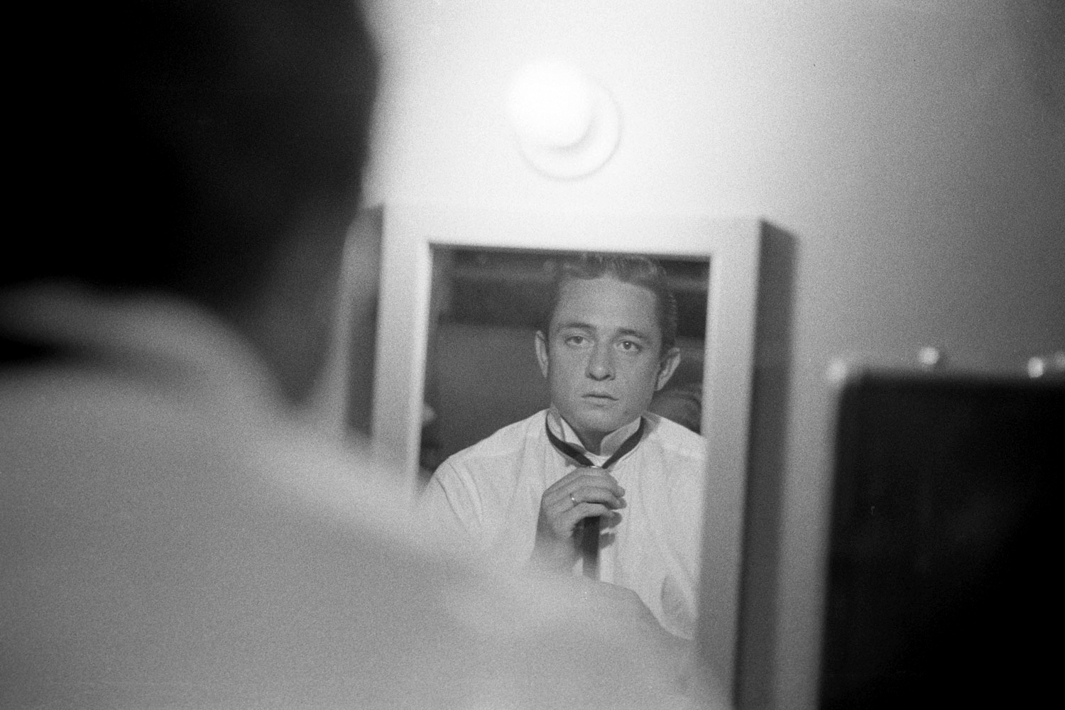Backstage, May 1959.