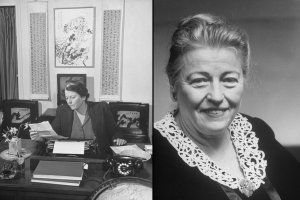 Pearl Buck in 1943. She was awarded the Nobel for Literature in 1938.
