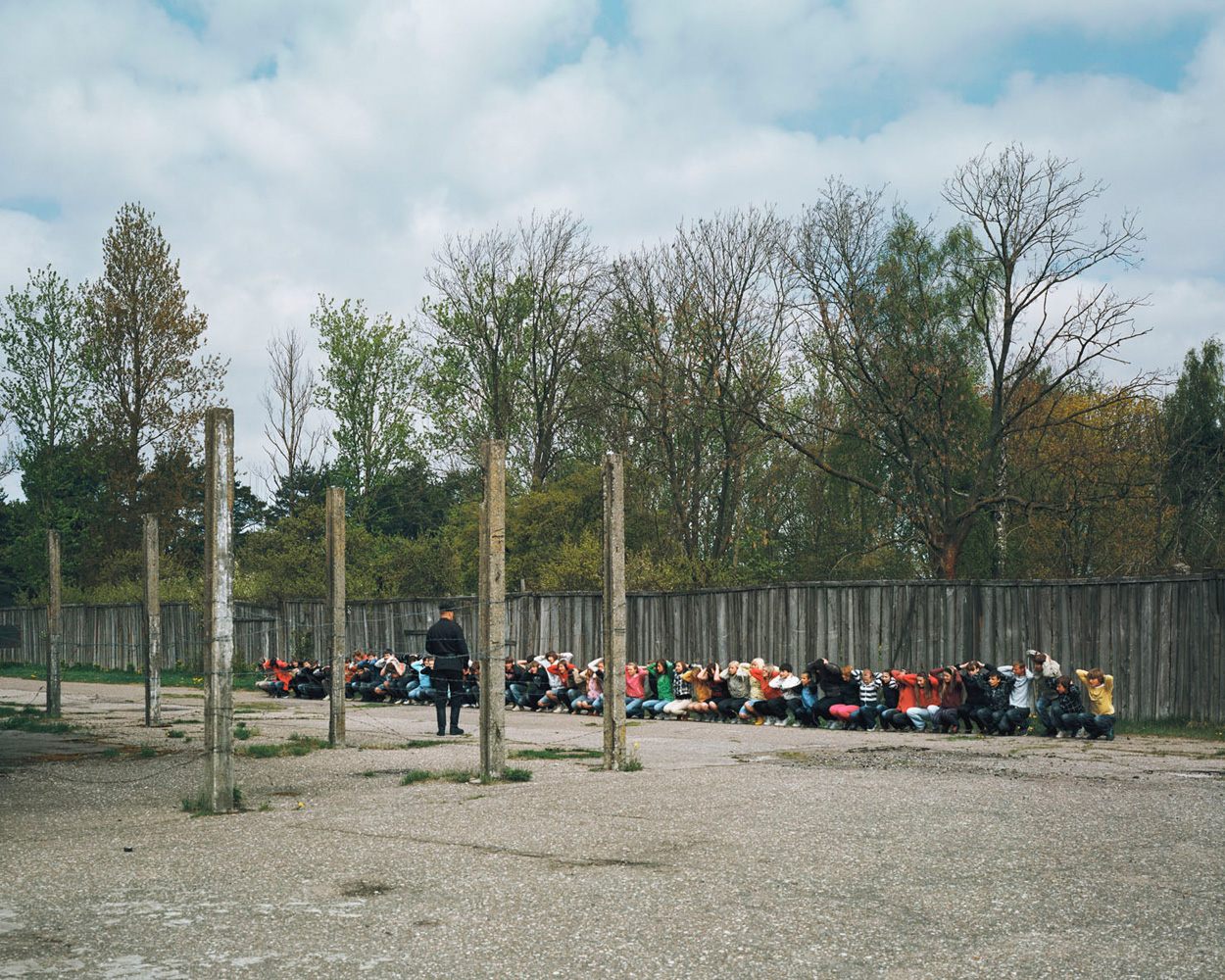 Karosta prison — Liepaja, Latvia. 2009.Visitors enter the only military prison in Europe open to tourists. The tour includes a  historical interactive reality show  in which participants can play the parts of the prisoners.
