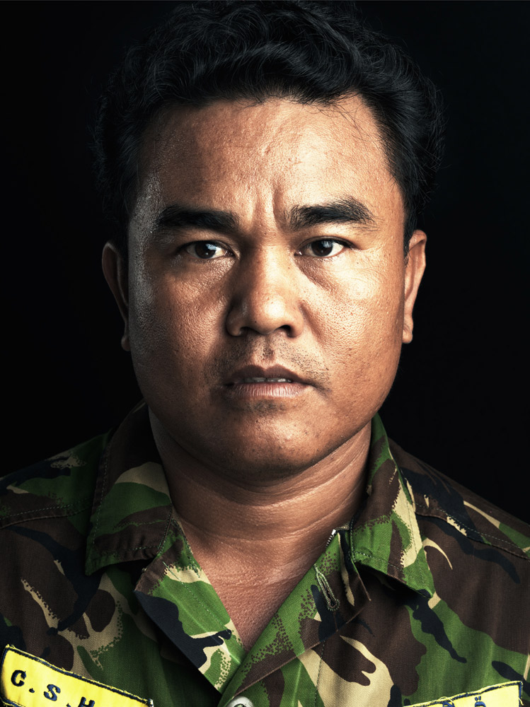 Aki Ra used to plant land mines when he was a child soldier during the Khmer Rouge regime. Now he is a deminer, and was nominated as a CNN hero in 2010.