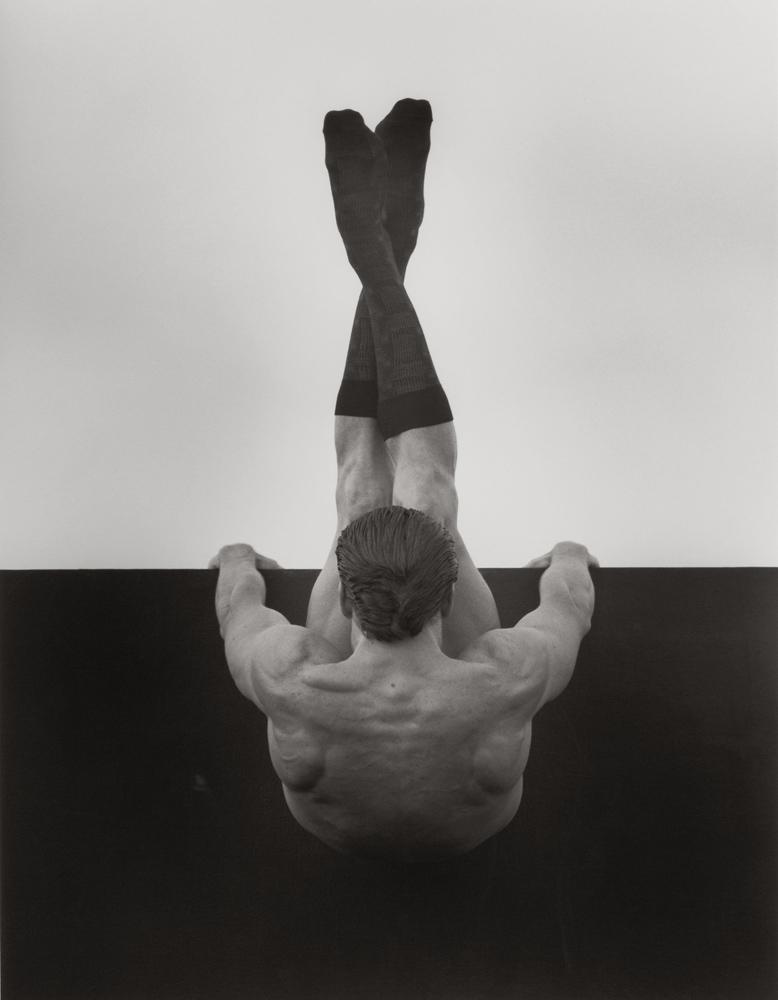 Male Nude with Socks I, Los Angeles (Mark Findlay), 1990