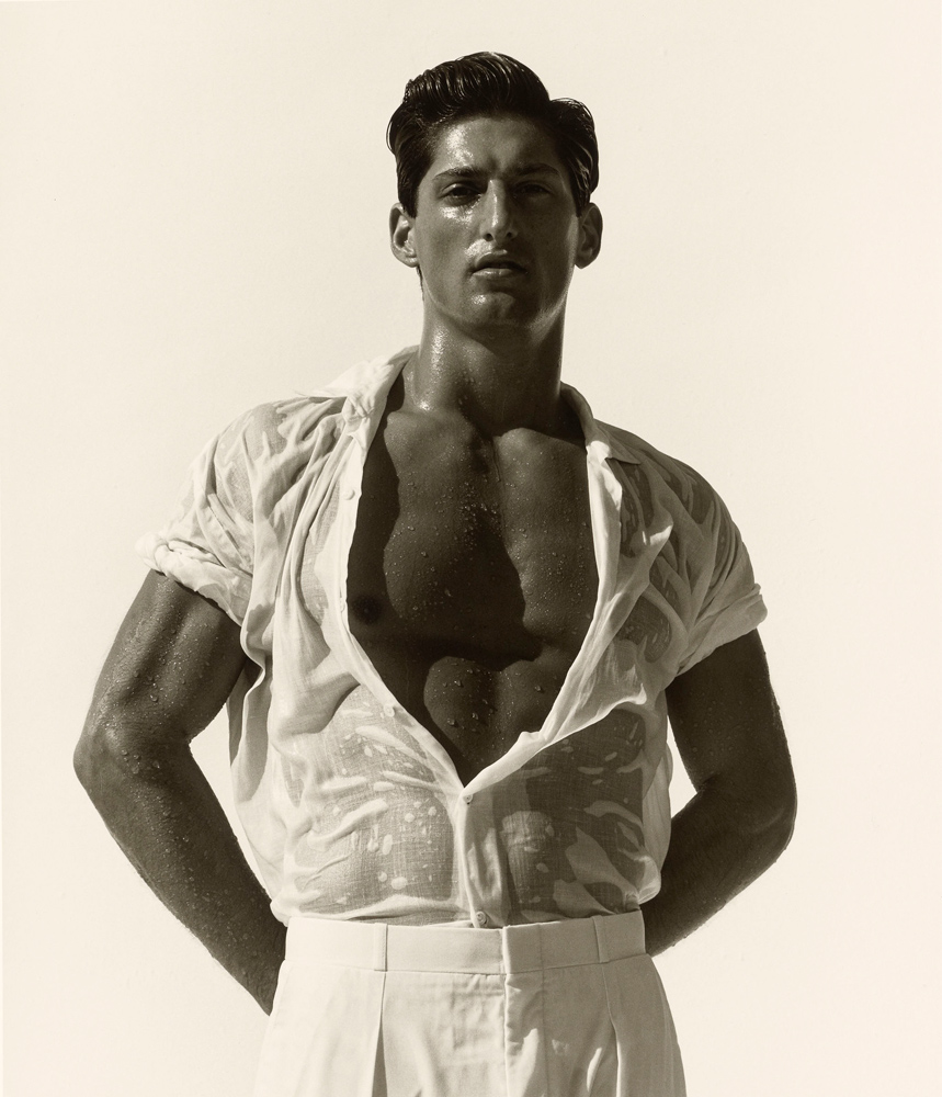 Tony in White, Hollywood, 1988