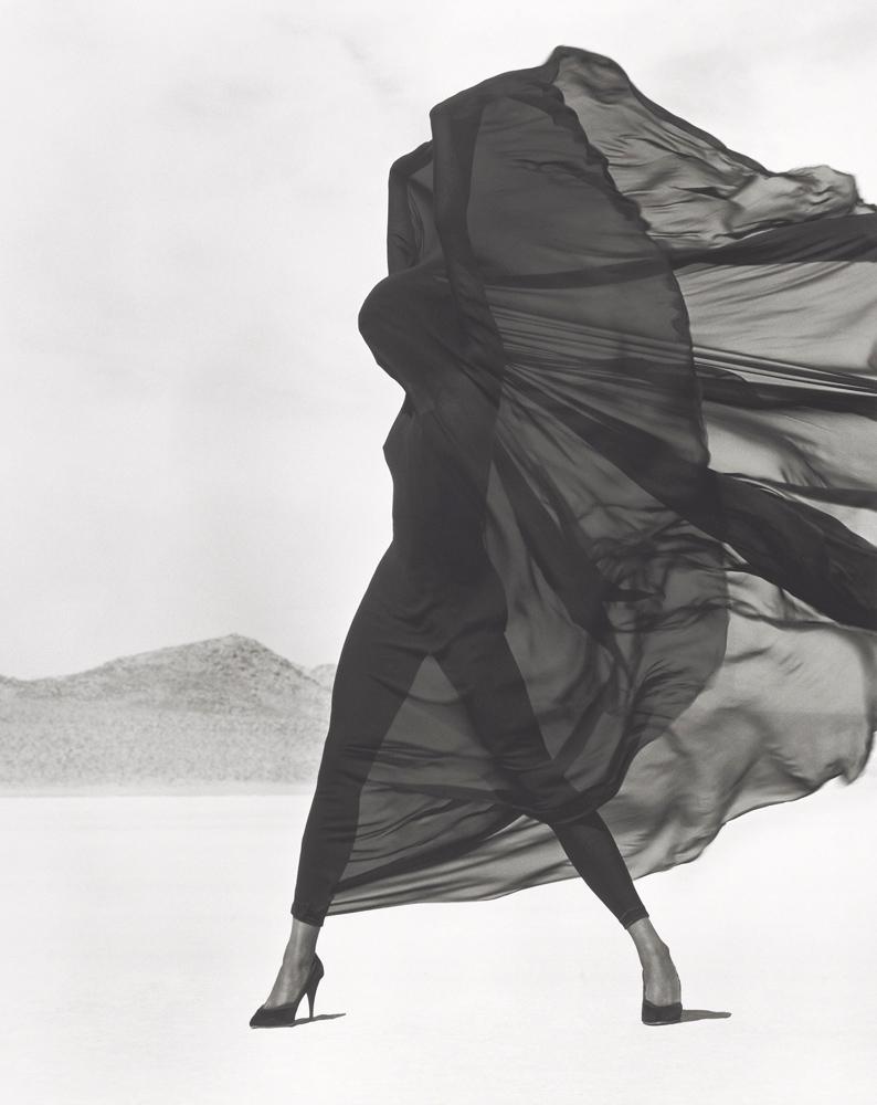 Versace, Veiled Dress, El Mirage, 1990