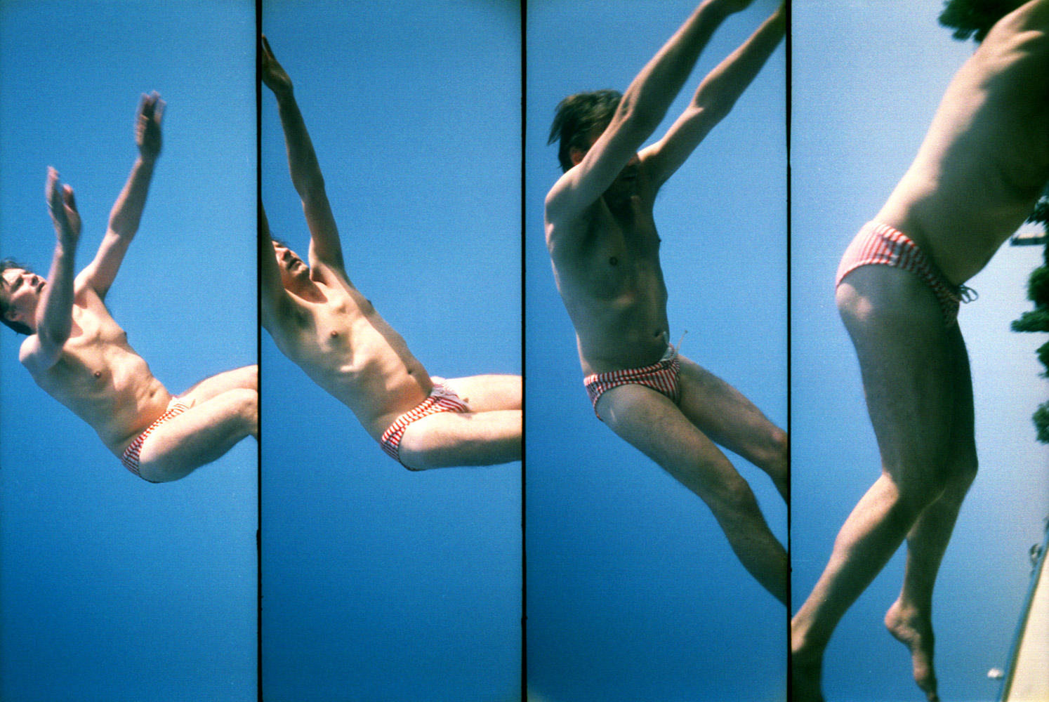 The Lomography photographs—or  Lomographs —featured in this gallery were selected by the company's co-founder Matthias Fiegl to show what he feels the company represents .Taken with a  Supersampler  camera.