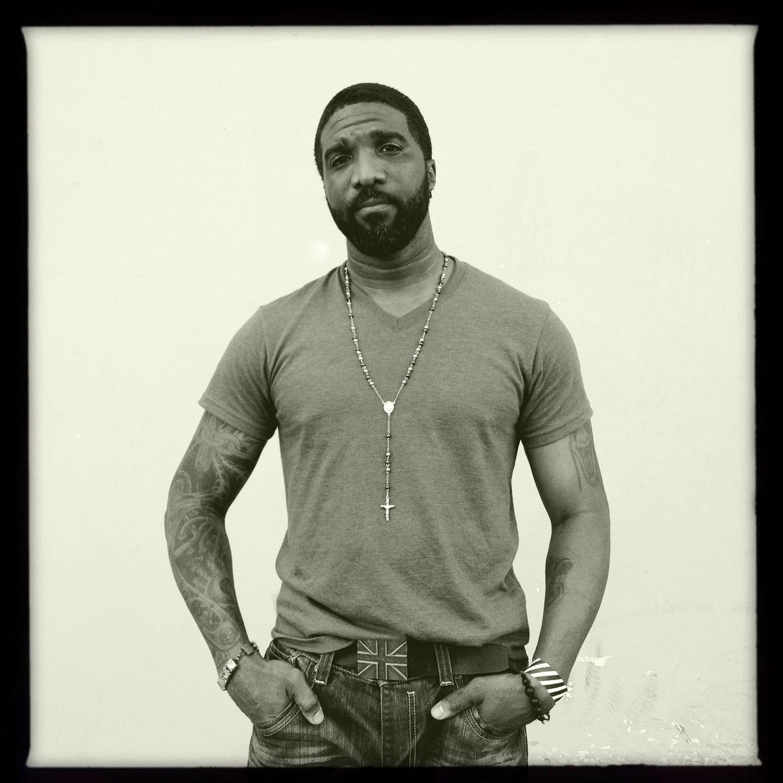 Jerome Horton, Trayvon Martin's football coach at the Bayside Amphitheater rally, Miami, FL April 1, 2012