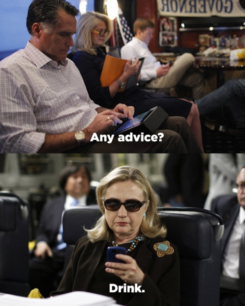 Mitt Romney on Texts from Hillary, posted April 6, 2012