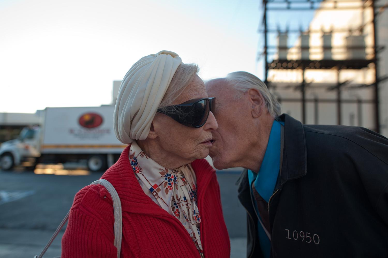 Will kisses Adina, 2011.