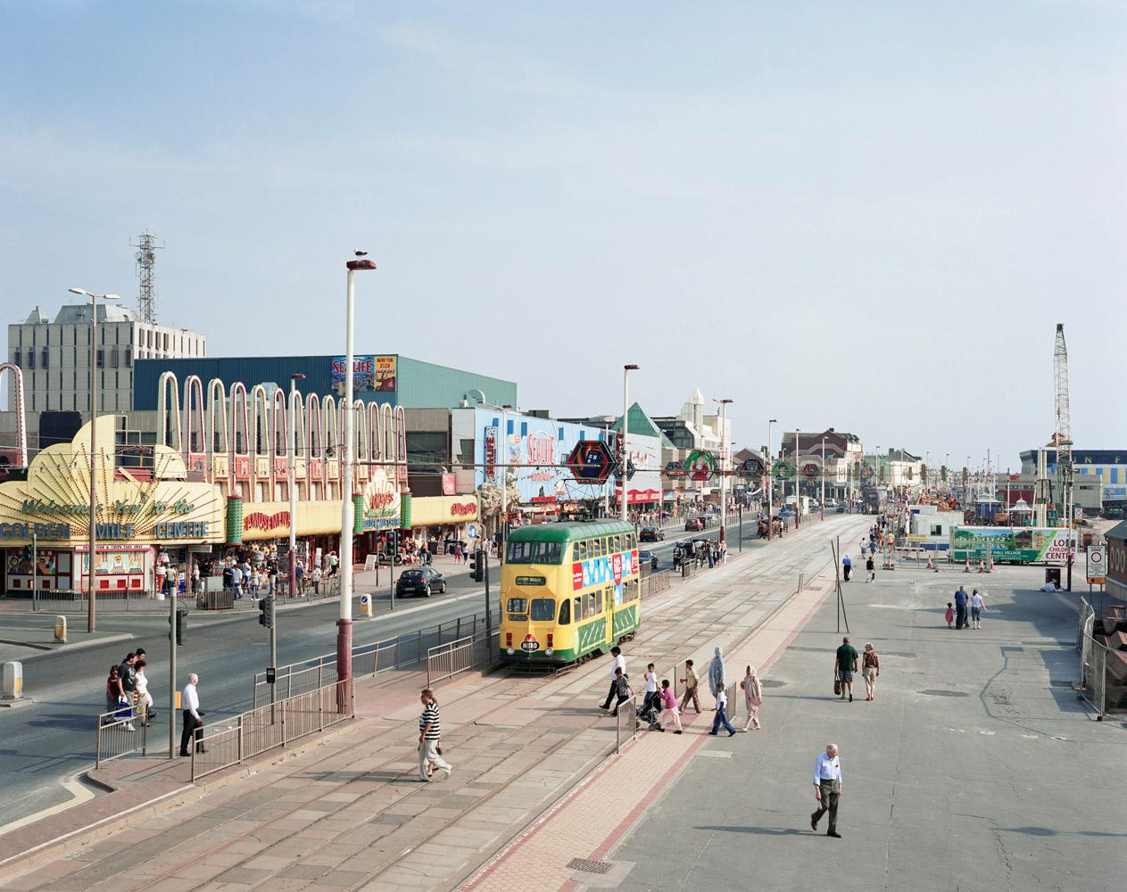 Blackpool Promenade, Lancashire. 2008.