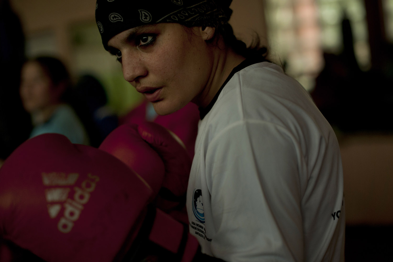 Rahimi was first inspired to fight after watching a video of professional boxer Laila Ali, Muhammad Ali's daughter, on YouTube
