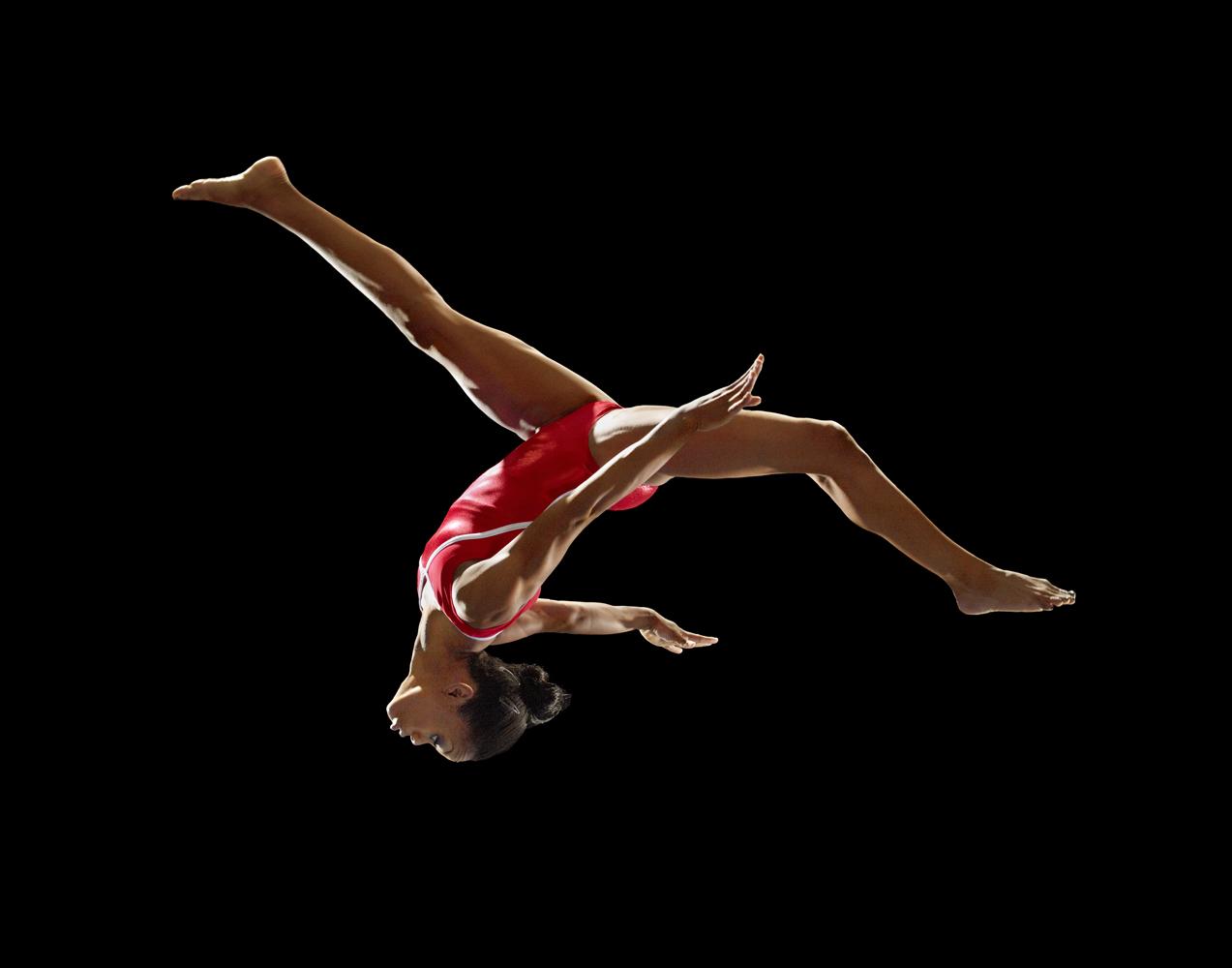 Gymnast Gabby Douglas, 16.