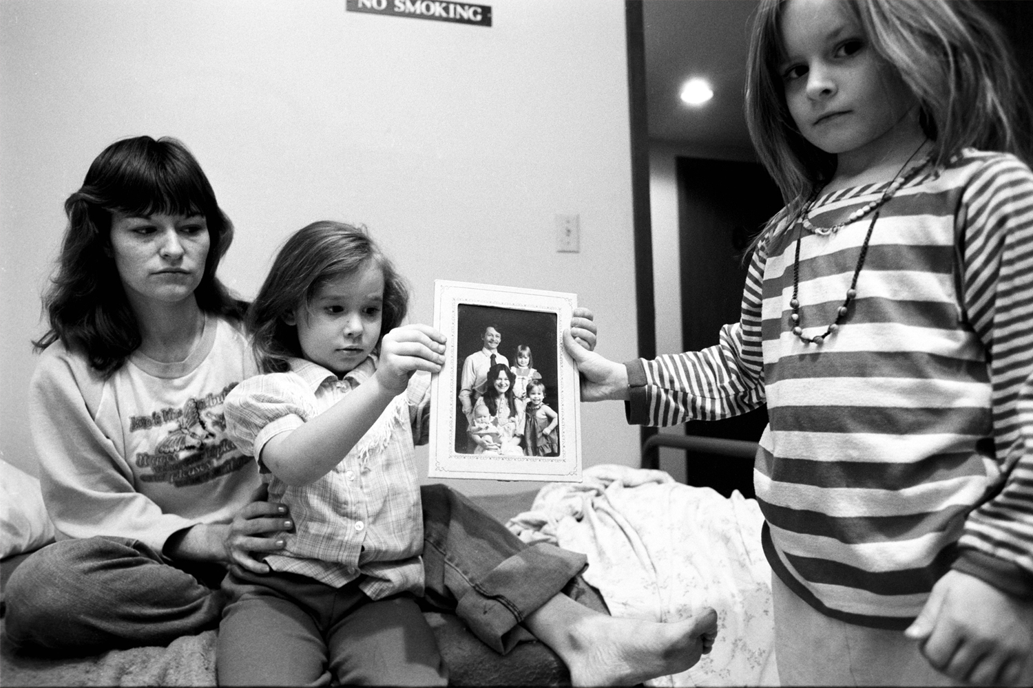 Mary's daughters show the face of the man they called Daddy– the man who threatened to kill their mother.