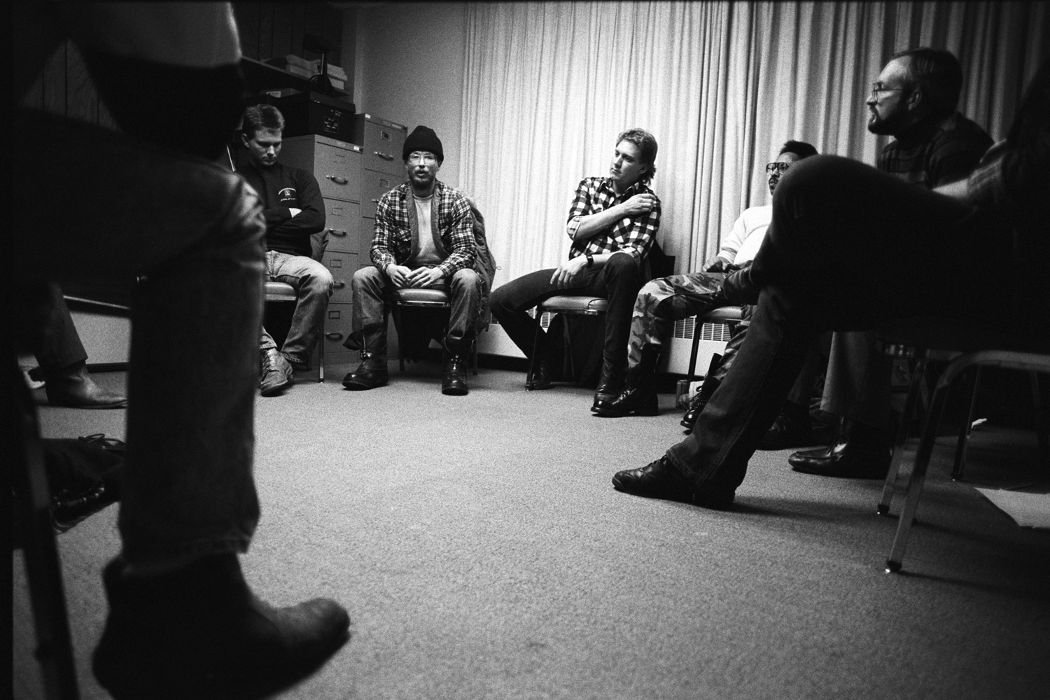 Counseling programs for abusive men teach them to take responsibility for their behavior, and to change it. Denver, 1986.
