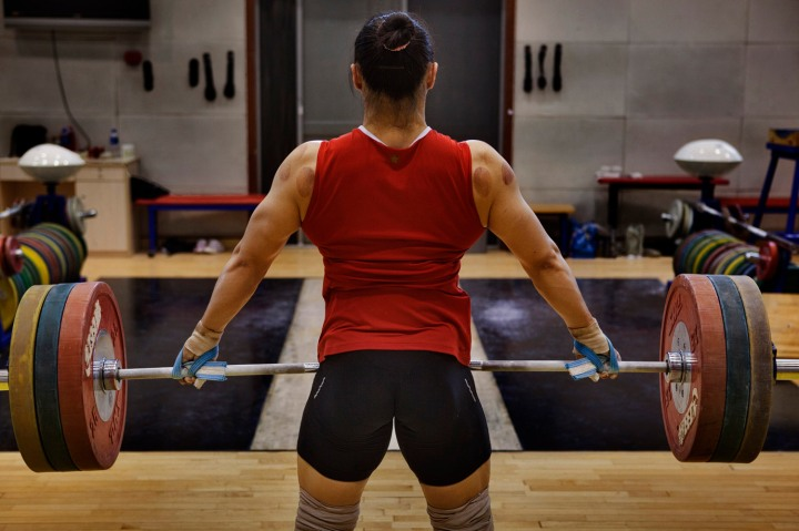 On Covid 19 And Pandemics A Stoic Perspective: James Nachtwey's Photos Of China's Female Weight Lifters