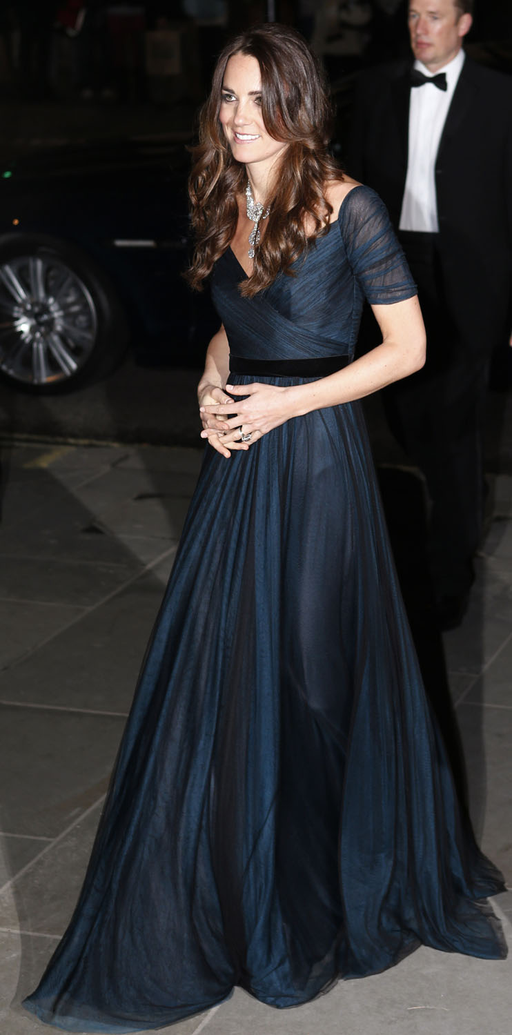 <strong>Something Borrowed (From the Queen)</strong>Britain's Catherine, the Duchess of Cambridge, arrives at the National Portrait Gallery's Portrait Gala 2014 in central London February 11, 2014.