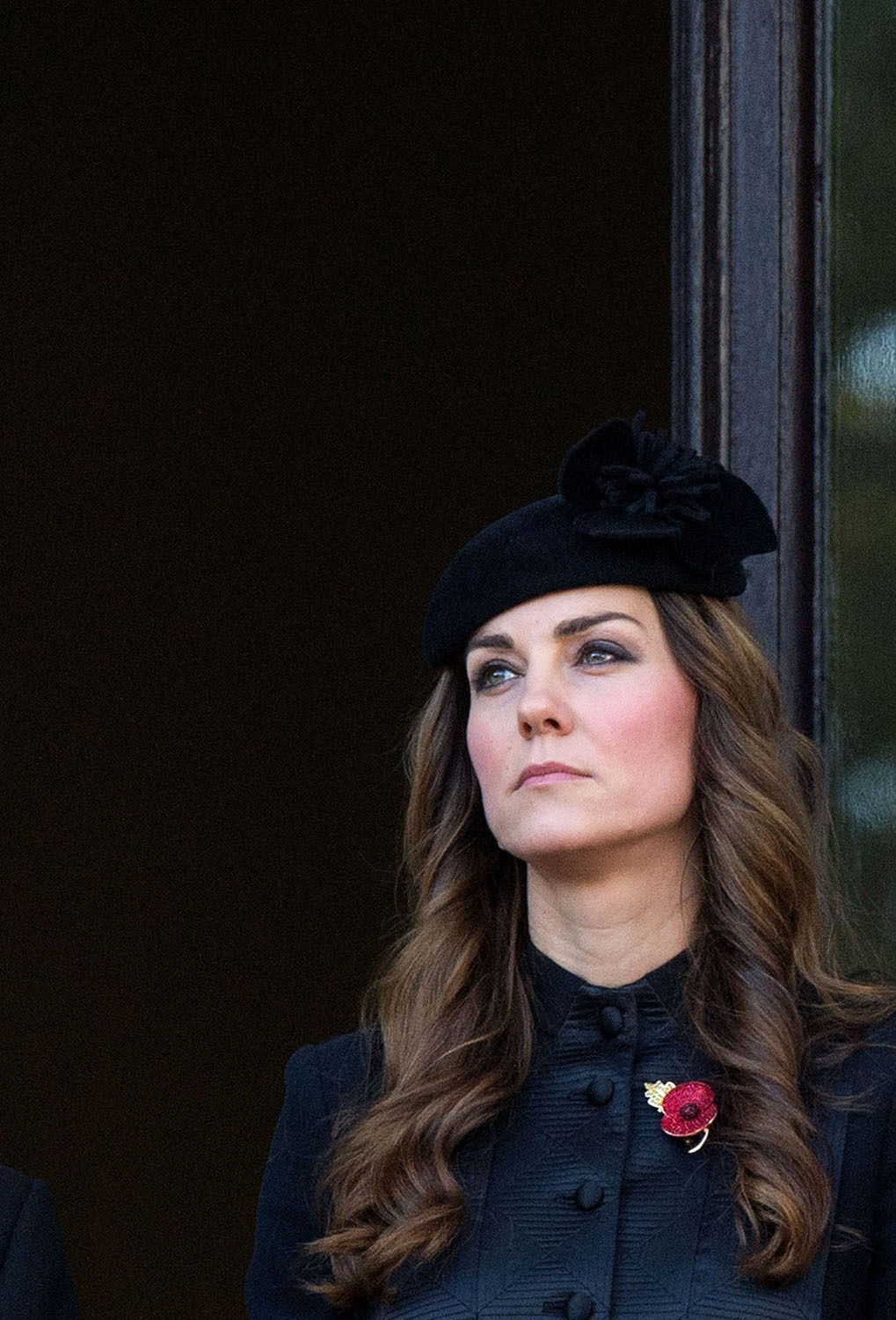 <strong>Solemn Style</strong>Catherine, Duchess of Cambridge attends Remembrance Sunday at the Cenotaph on Whitehall on November 10, 2013 in London, England.
