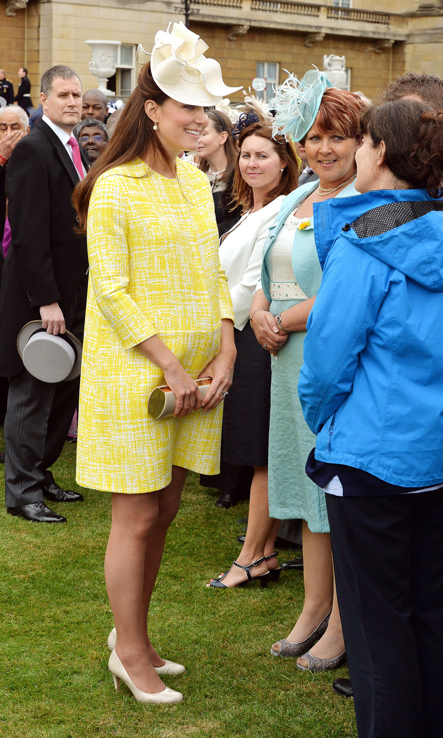 <strong>Fresh as a Daisy</strong>Britain's Catherine, Duchess of Cambridge attends a garden party at Buckingham Palace in London May 22, 2013.
