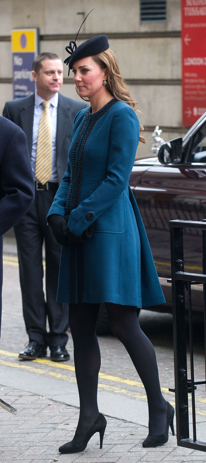 <strong>Mad Hatter</strong>Catherine, Duchess of Cambridge visits Baker Street Underground Station to celebrate the Underground's 150th Birthday on March 20, 2013 in London.